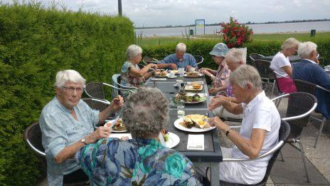 een heerlijke maaltijd in Reeuwijk